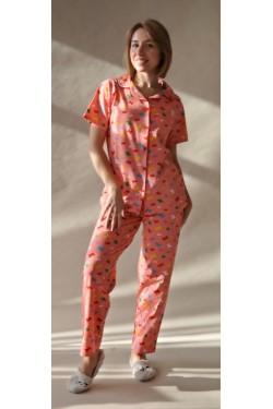 Пижама батального размера Peach  Butterfly (2034)