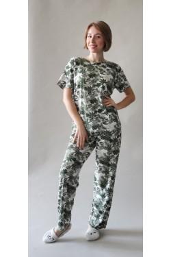 Женская пижама батальная Forest (7140)