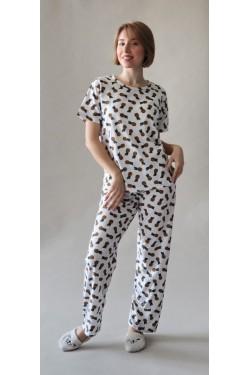 Батальная пижама Pineapple (7080)