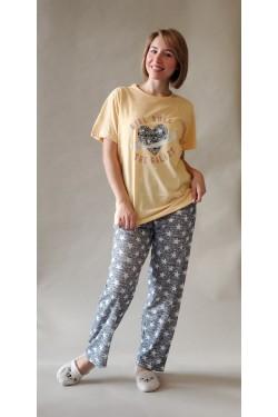 Батальная пижама Girl Rule (68055)