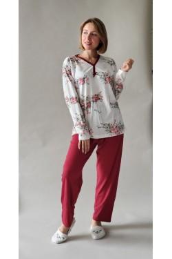 Пижама батальная с длинным рукавом
