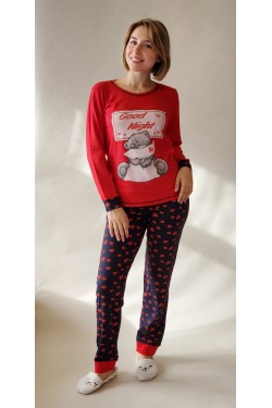 Пижама с длинными рукавами Good Night  (69285)
