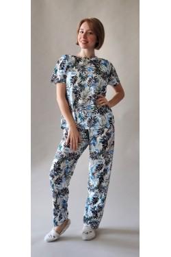 Женская батальная пижама Tropics (7082)