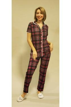 Женская пижама на пуговицах Classic (2020)