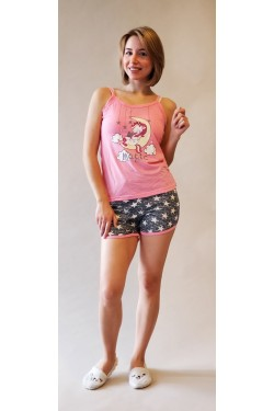 Женская пижама с шортами (00333)