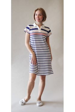 Домашнее платье-поло Sport  Style (11926)