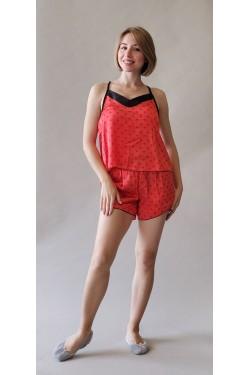 Пижама с шортами Red Heart (146)