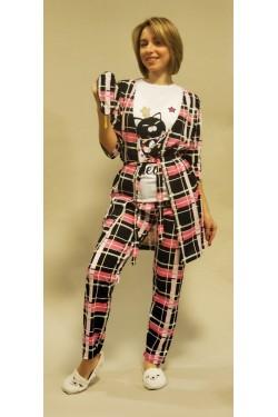 (5107) Женская пижама-комплект Хлопок